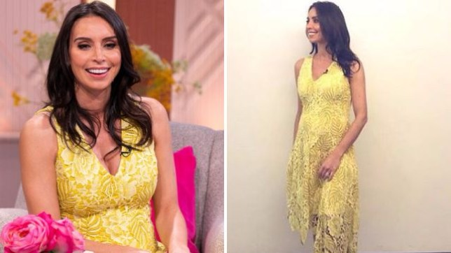Pregnant Christine Lampard Looks Absolutely Glowing On Lorraine Metro News