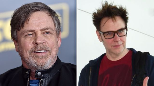 Star Wars' Mark Hamill meets Marvel director James Gunn – but did they discuss a possible Marvel team-up?