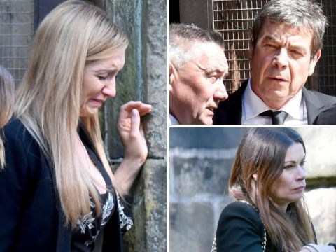Coronation Street spoilers: Eva Price is devastated in first look at Aidan Connor's funeral