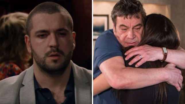 Aidan's body is discovered in Coronation Street suicide