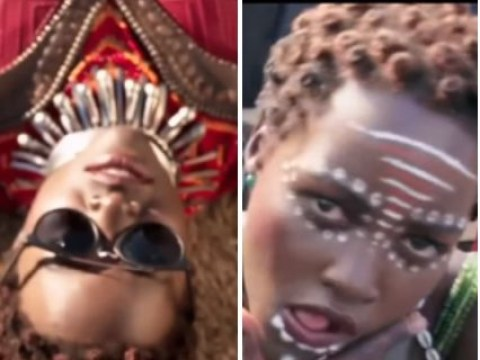 Lupita Nyong'o and Michael B. Jordan have all the fun in hilarious Black Panther blooper reel