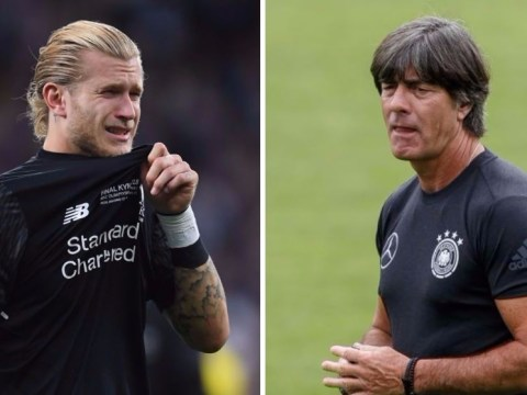 Germany boss Joachim Low texted Loris Karius after Champions League final