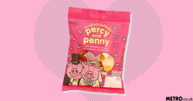 Now Percy Pig is getting married before me, WTF picture: metro.co.uk