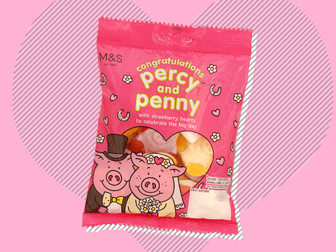 Percy Pig is getting married so where the f*** is my ring?