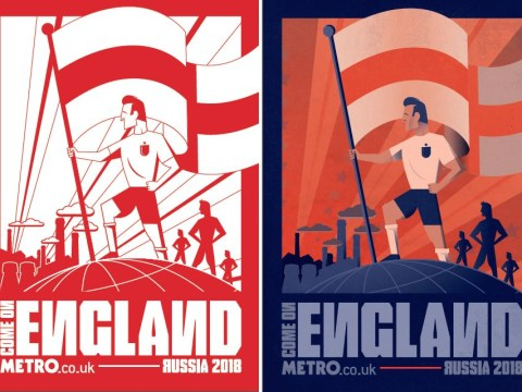 Here's a FREE World Cup poster so you can show your support for England in Russia 2018