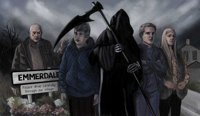 Who will die in Emmerdale