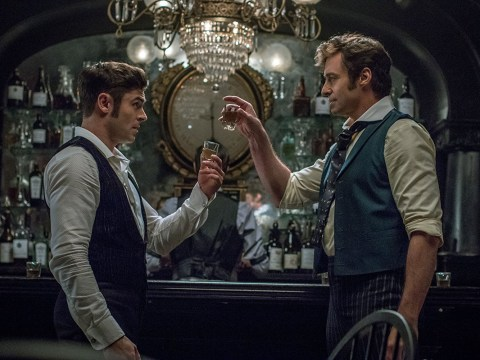 When is The Greatest Showman on TV next over the Christmas season?