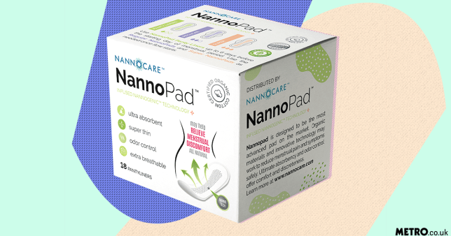 Sanitary pads filled with dirt claim to ease period pain picture: Nannocare