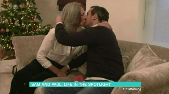 Paul wasn't backing down when it came to his views on that kiss with his mum, Gaynor (Picture: ITV)