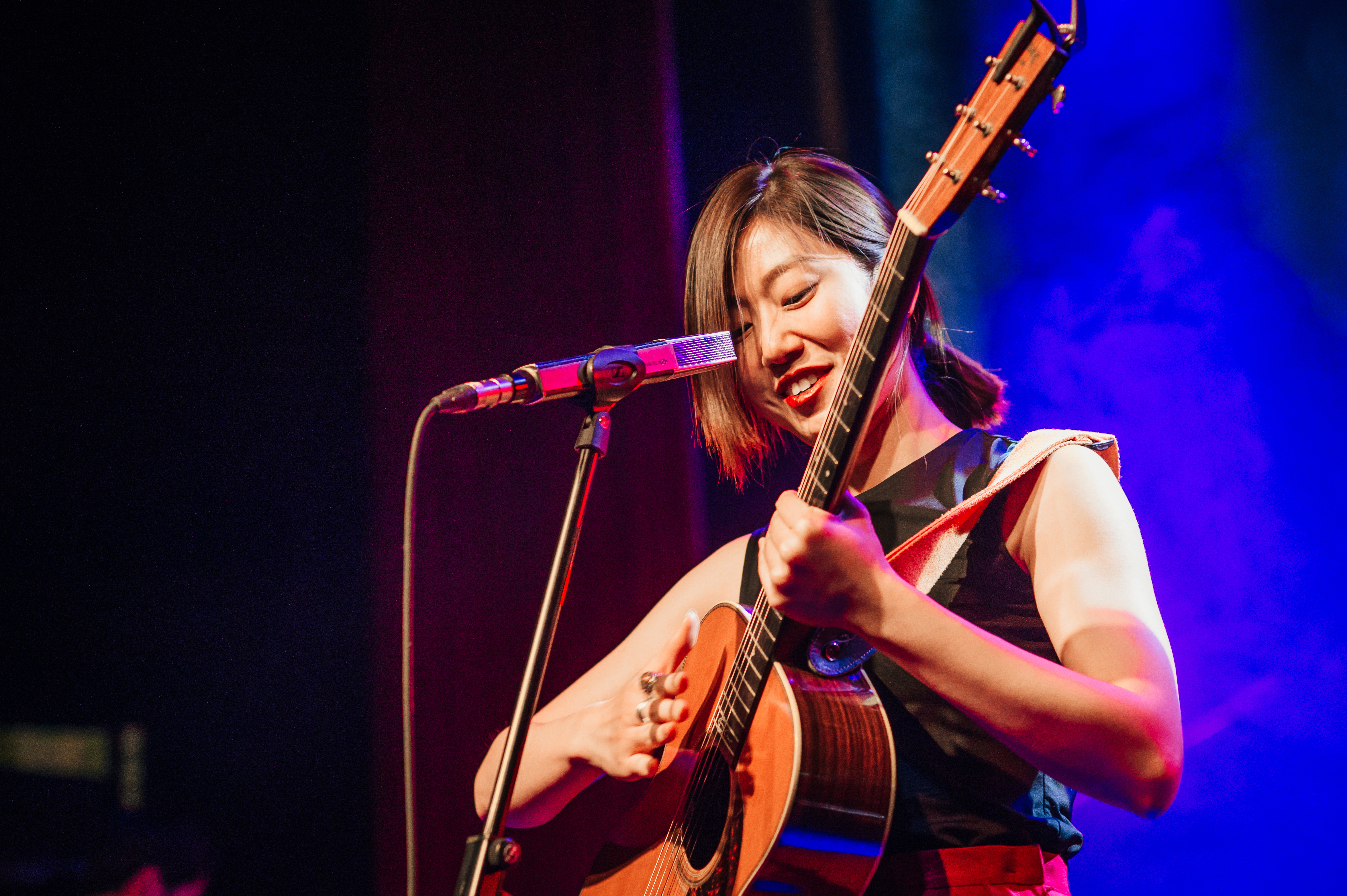 Gonne Choi performing at Rich Mix