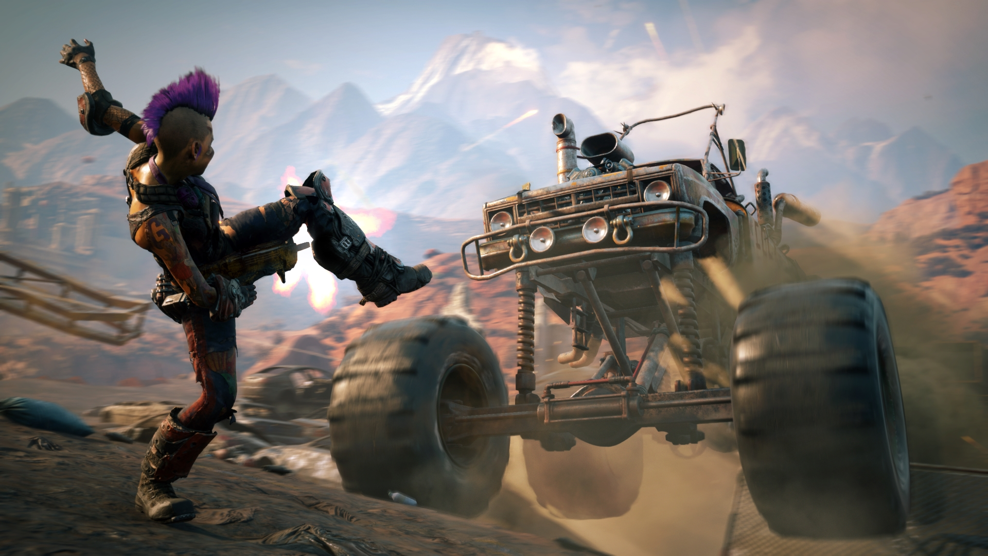 Rage 2 - it looks more fun than angry