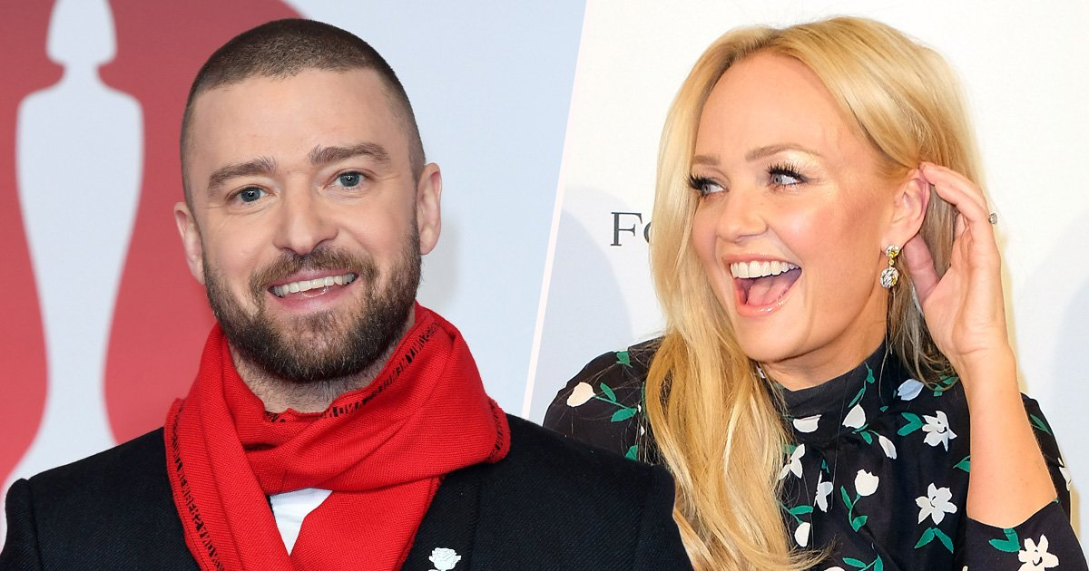 Everyone thinks Justin Timberlake hooked up with Emma Bunton as he admits to Spice Girls tryst