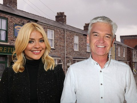 Coronation Street spoilers: Phillip Schofield and Holly Willoughby will cameo for Rosie Webster's exit story