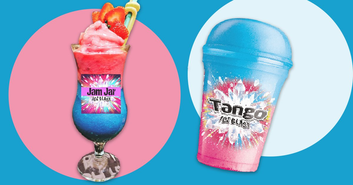 Caption: This UK Bar Is Selling Alcoholic Tango Ice Blast Cocktails Slush Puppie