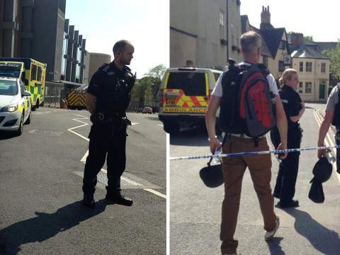 Oxford in lockdown after gunshots heard in city centre