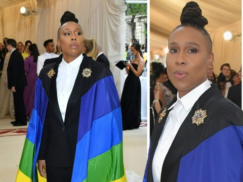 Master Of None's Lena Waithe wears rainbow flag to religion-dominated Met Gala and we love her for it