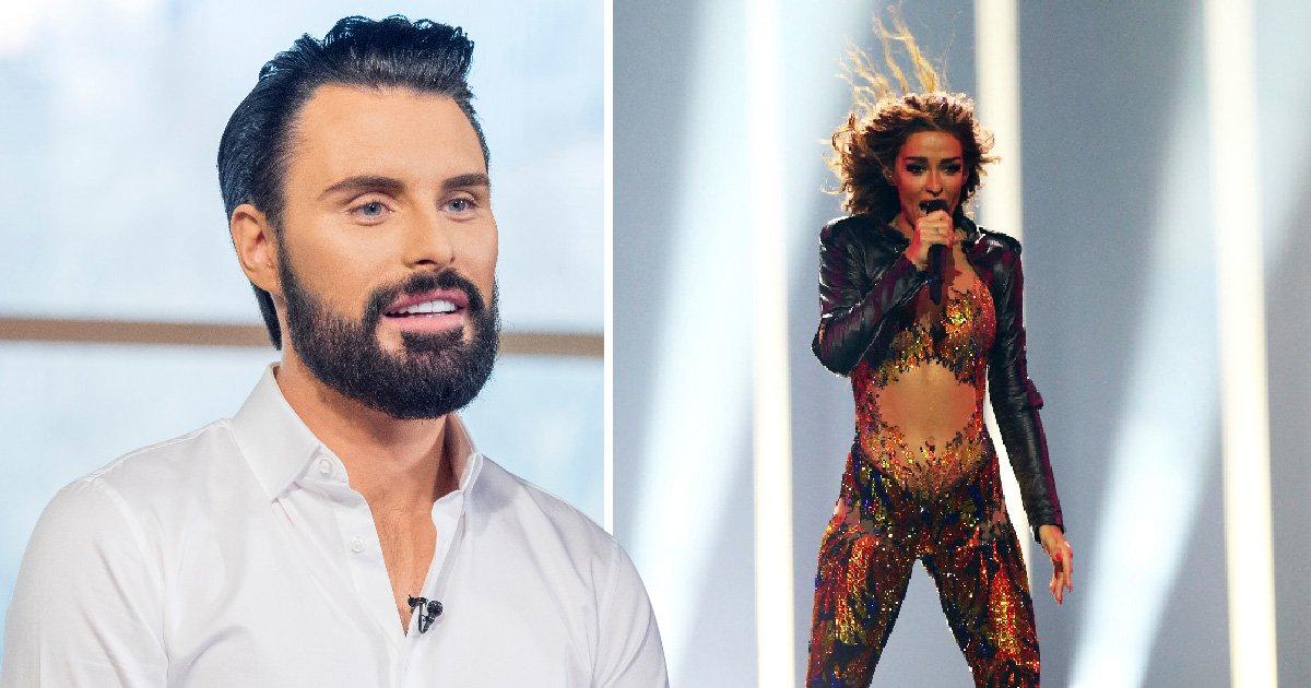 Rylan Clark wins Eurovision semi-final with Miss Vanjie Drag Race gag