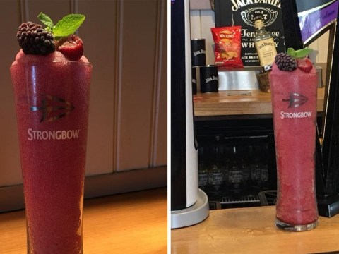 Put down the strawberry and lime Rekorderligs – Strongbow slushies are here