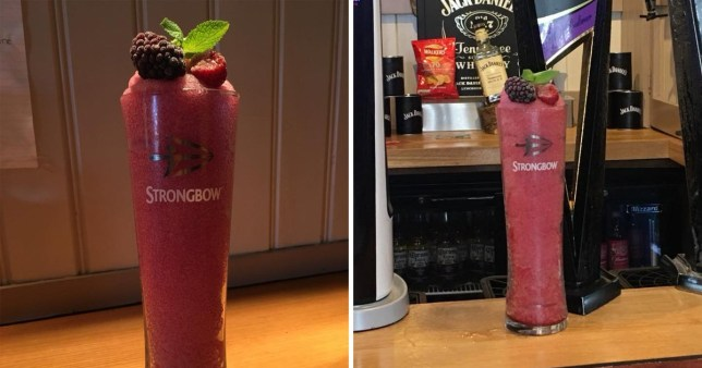 Strongbow Dark Fruit Slushes Are A Real Thing Perfect For Summer