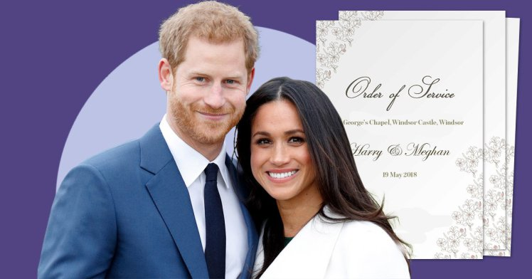 Read the full order of service for Prince Harry and Meghan Markle's royal wedding
