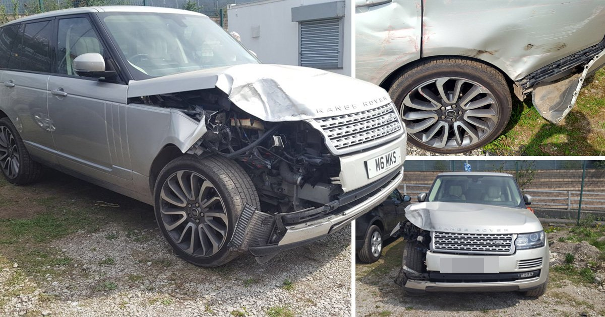 Couple return from holiday to find £100,000 Range Rover 'smashed to smitheerens'