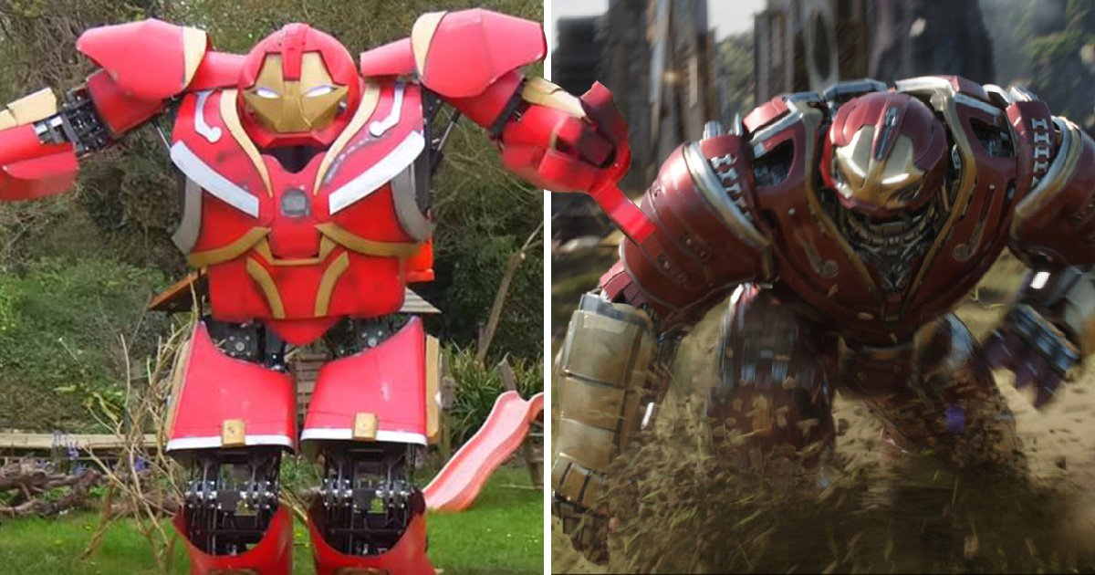 YouTube inventor creates real-life Hulkbuster suit from Avengers: Infinity War with eBay's help – and we've never needed anything more