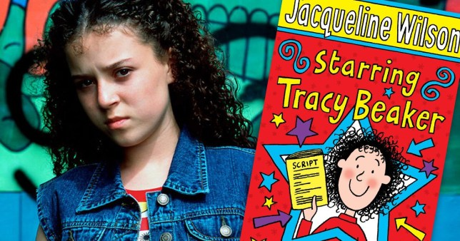 Jacqueline Wilson reveals first look at grown up Tracy Beaker, 30, as a single mum living on a 'rough' estate in London