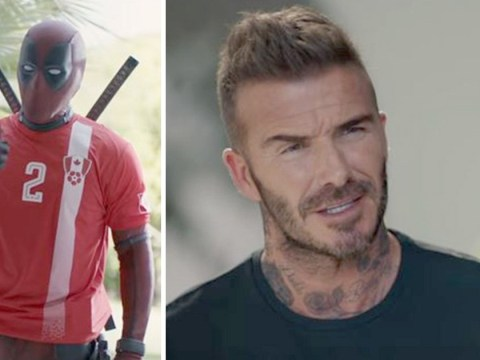 Deadpool has some grovelling to do to David Beckham after that 'helium voice' comment