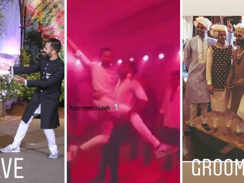 Anand Ahuja gives behind the scenes look at wedding to Sonam Kapoor and it looked like a blast