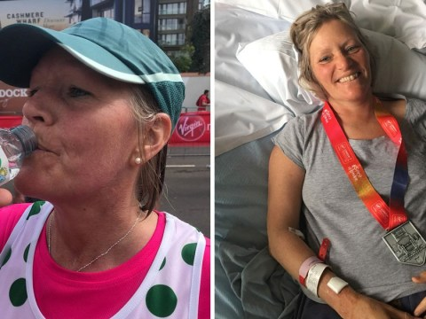 London Marathon runner left fighting for her life in coma after drinking too much water