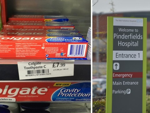 WHSmith forced to apologise after selling toothpaste for £7.99 in hospital shop