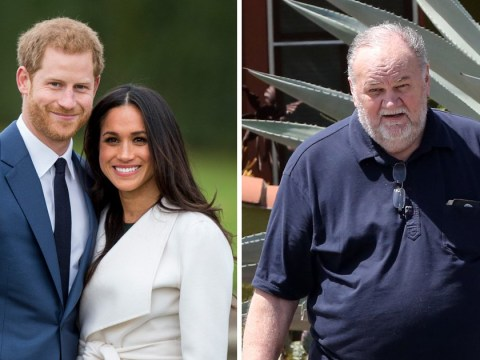 Meghan Markle's father suffers heart attack and won't attend wedding