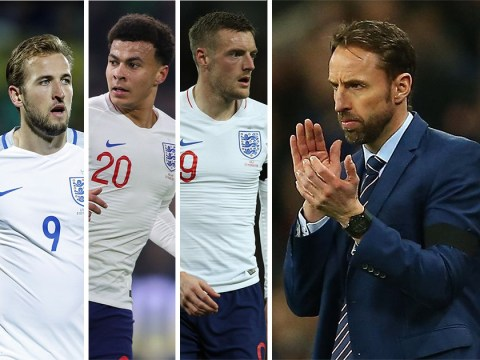 Gareth Southgate names England World Cup squad