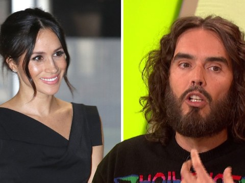 Russell Brand relives kissing Meghan Markle in Get Him to the Greek as she prepares to marry Prince Harry