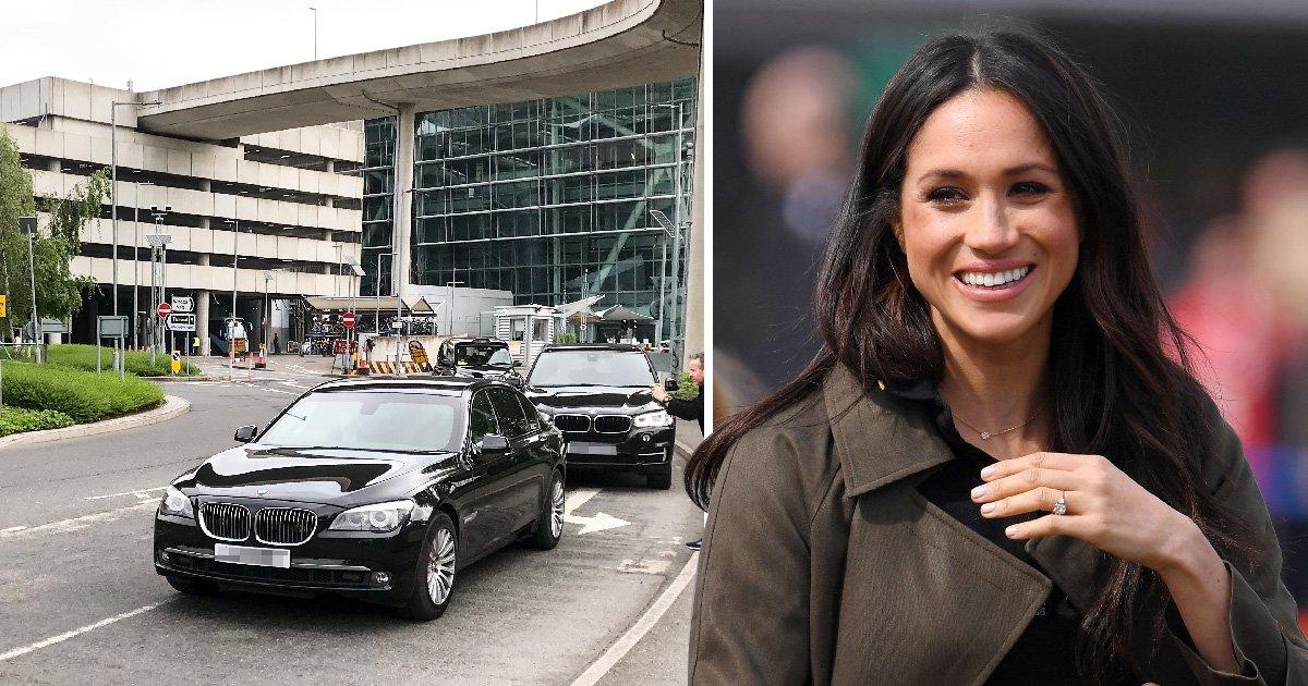 Meghan Markle's Mum flies into Heathrow Airport before meeting the Queen