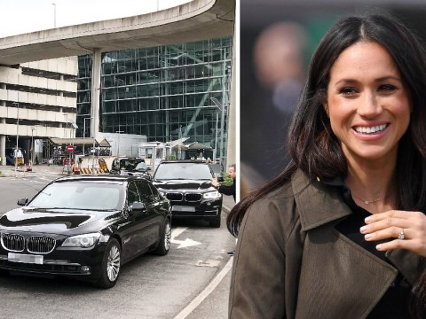Meghan Markle's Mum flies into Heathrow Airport before meeting the Queen