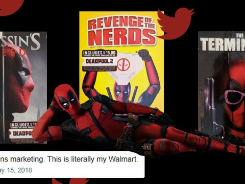 Deadpool trolls us all by taking over classic film covers in very clever promo stunt