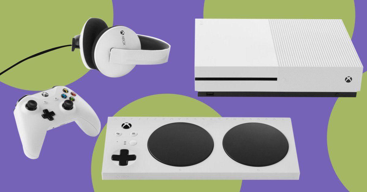Microsoft are preparing to launch a new controller developed specifically for gamers with disabilities (Picture: Microsoft)