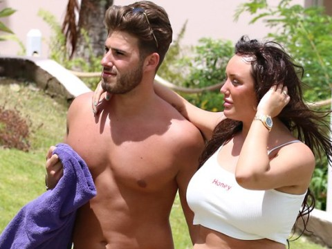 Charlotte Crosby and Joshua Ritchie pack on the PDA as they enjoy romantic holiday