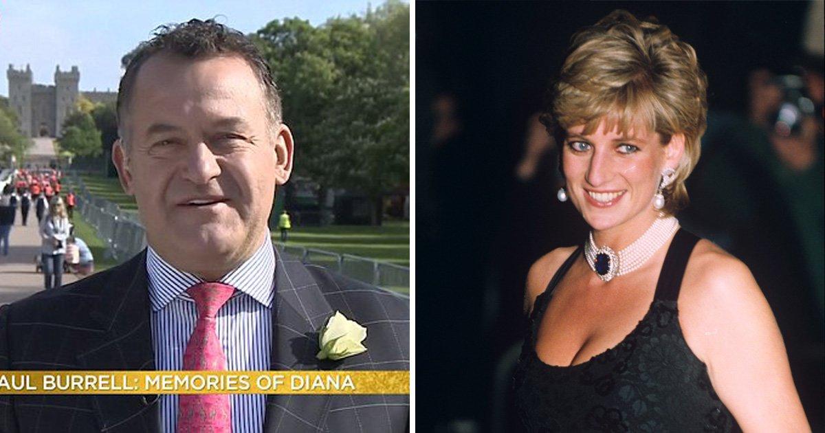 Paul Burrell claims 'Princess Diana's spirit will be present' at the royal wedding