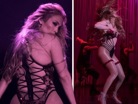 Jennifer Lopez is making us want to learn burlesque after her Vegas residency striptease routine