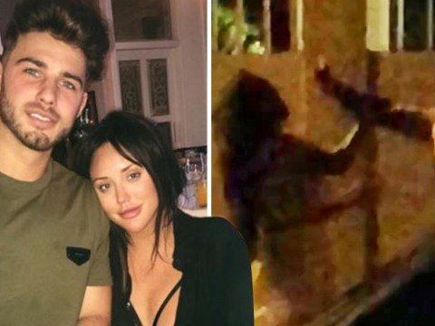 Charlotte Crosby appears to hit boyfriend Joshua Ritchie in holiday row