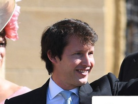 Someone gave James Blunt his phone during the royal wedding reception – let the zingers fly