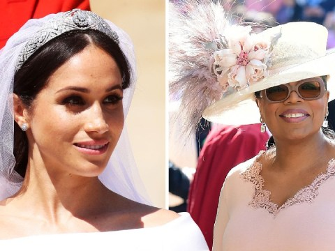 Oprah Winfrey reveals she changed her royal wedding dress at the last minute to not clash with Meghan Markle