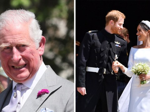 Embarrassing dad Prince Charles spoke about changing Harry's nappy in wedding speech