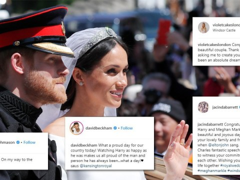 Harry and Meghan's wedding attracted more than 6,000,000 tweets