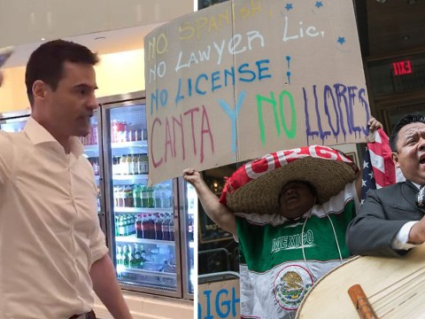 Mariachi band serenades lawyer caught ranting against people speaking Spanish