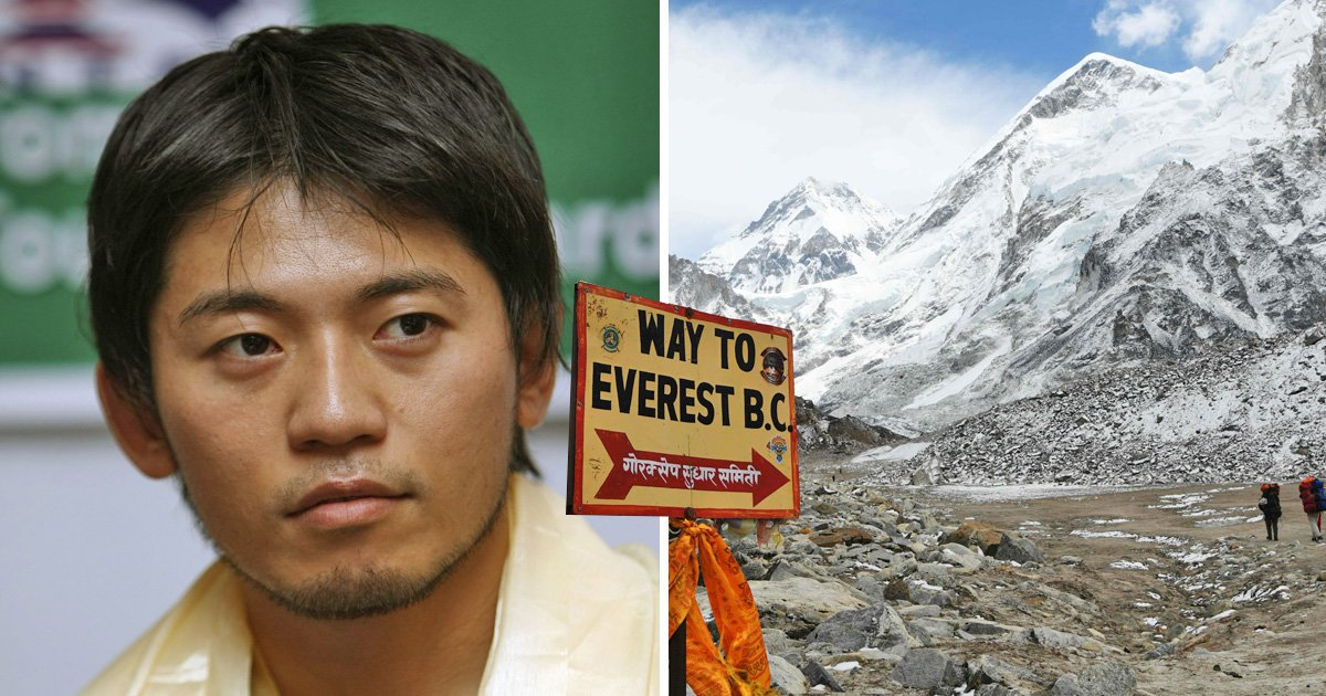Adventurer dies on his eighth attempt to climb Mount Everest