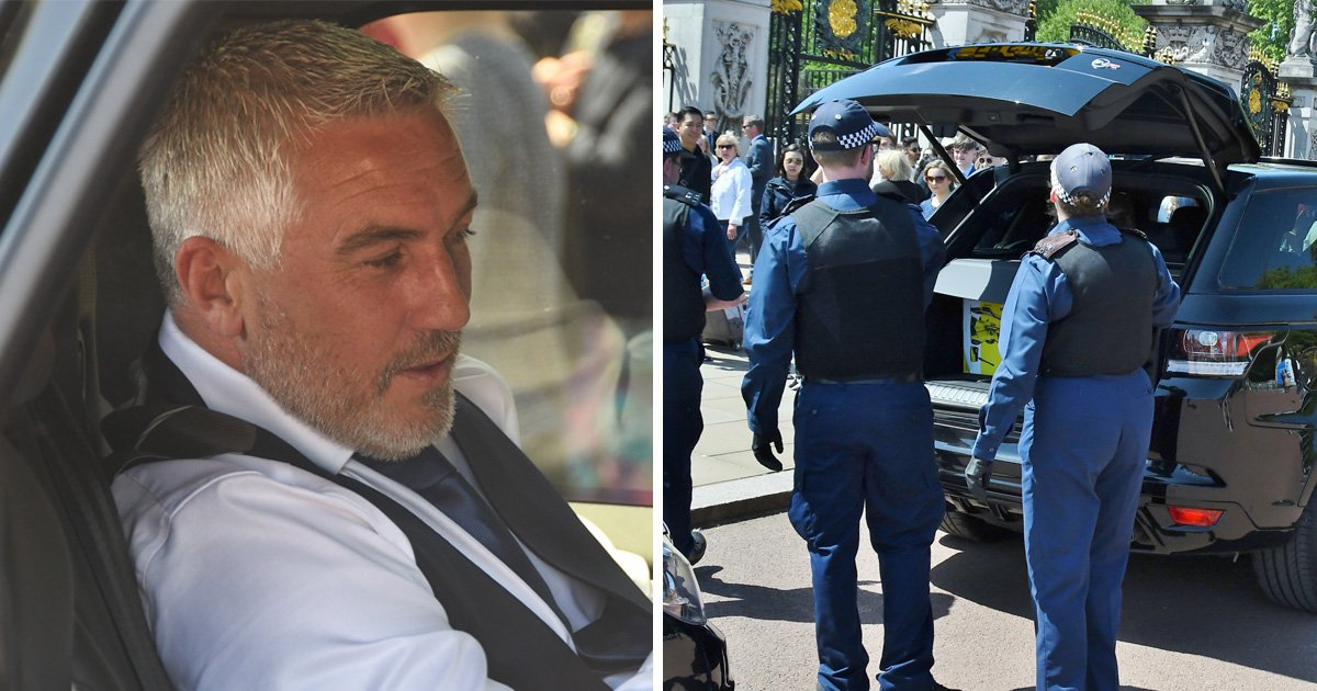 Paul Hollywood's car search reveals even baking royalty can struggle to get into Buckingham Palace