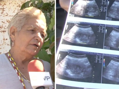 'Pregnant' woman, 70, claims she's going to be the oldest mother in history